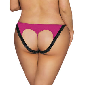 Heartbreaker Open Back Panty PINK - Miss Behaviour Bachelorette Parties