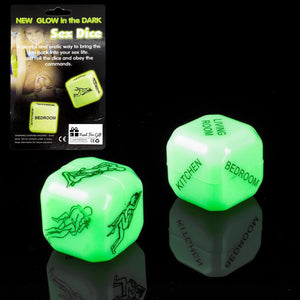 Naughty Bedroom Dice - Miss Behaviour Bachelorette Parties