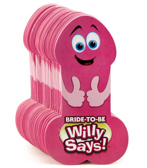 Willy Says - Miss Behaviour Bachelorette Parties