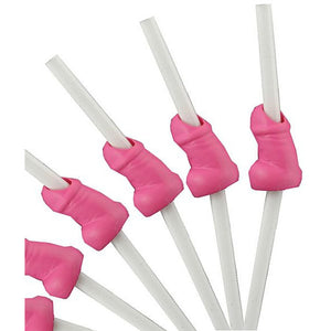 Pink Willy Straws - Miss Behaviour Bachelorette Parties