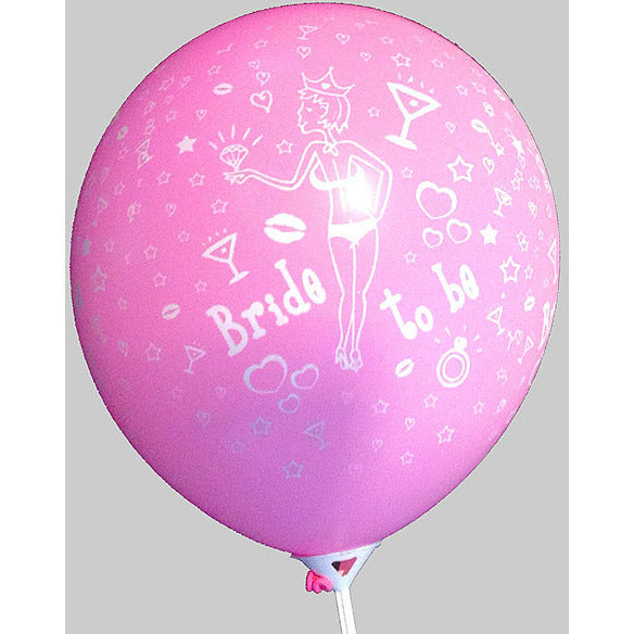 Balloons Bride to Be - Miss Behaviour Bachelorette Parties