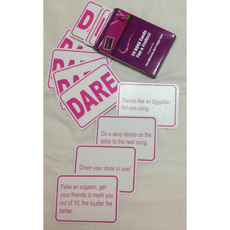 Hen Night Dare Cards - Miss Behaviour Bachelorette Parties