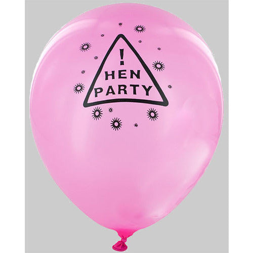 Hen Party!  Balloons - Miss Behaviour Bachelorette Parties