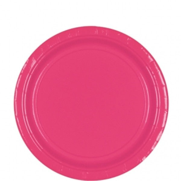 Plates Pink Paper - Miss Behaviour Bachelorette Parties