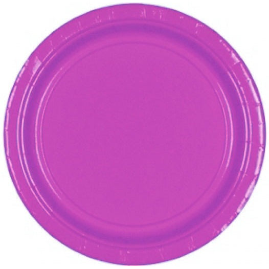 Plates Purple Paper - Miss Behaviour Bachelorette Parties