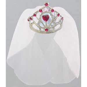 Tiara with Veil - Miss Behaviour Bachelorette Parties
