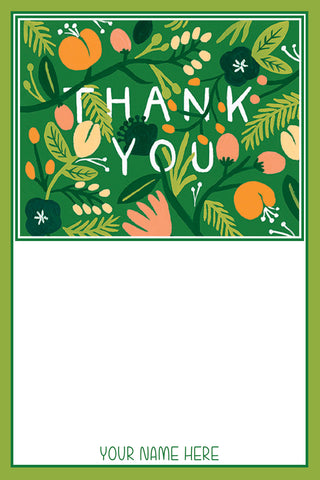A Greenery of Thanks