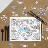 Boys Themed Doodle Placemats