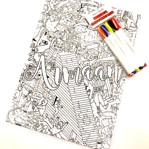 """Height of Adventures"" Doodle Jigsaw Puzzle"