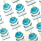 Turquoise Elegance Gift Tags