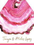 Pink Agate Gift Tags