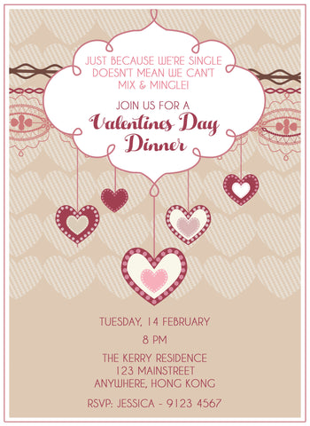Valentine's Day Invitation
