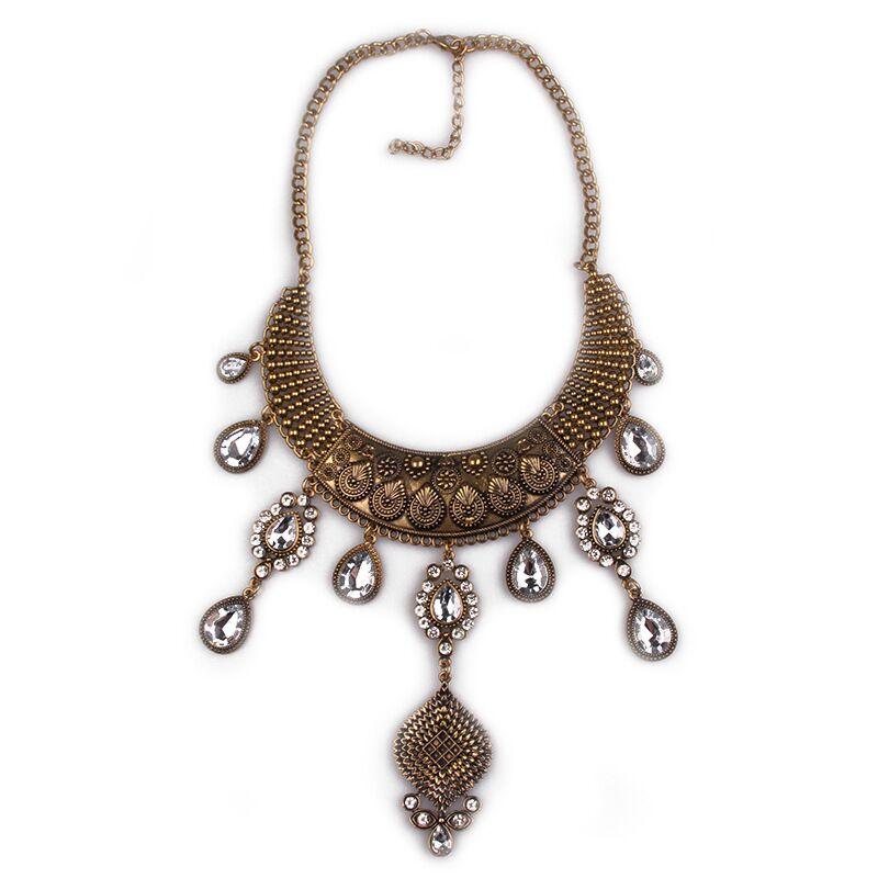 Layla Bollywood statement necklace