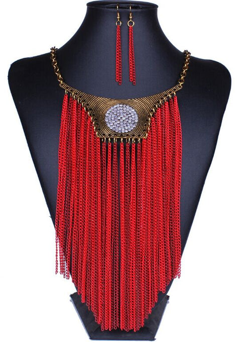 Tahiti statement necklace