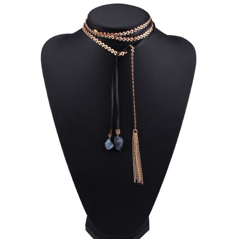 Kyra choker necklace
