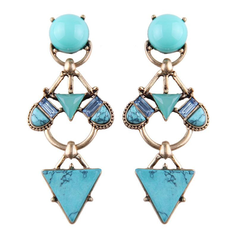 Alpha statement earring
