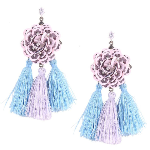 Sofie tassel earrings
