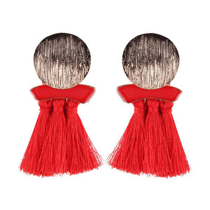 Open image in slideshow, Glamour tassel earring