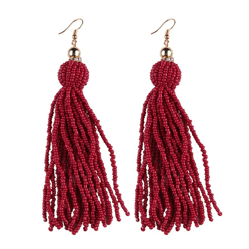 Designer beads earrings