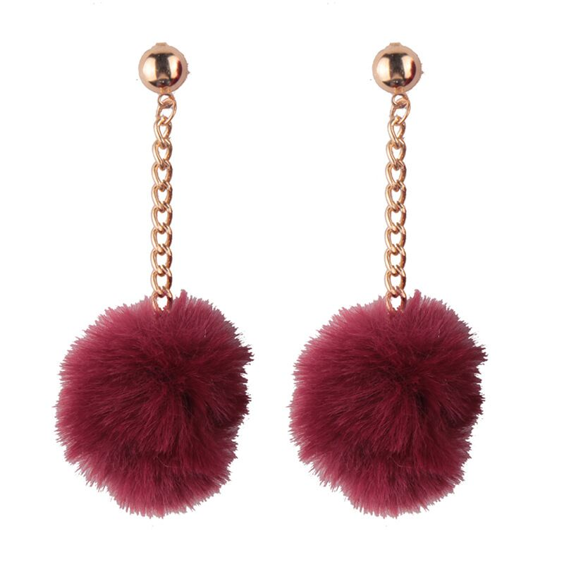 Hazzy Pompom Earrings