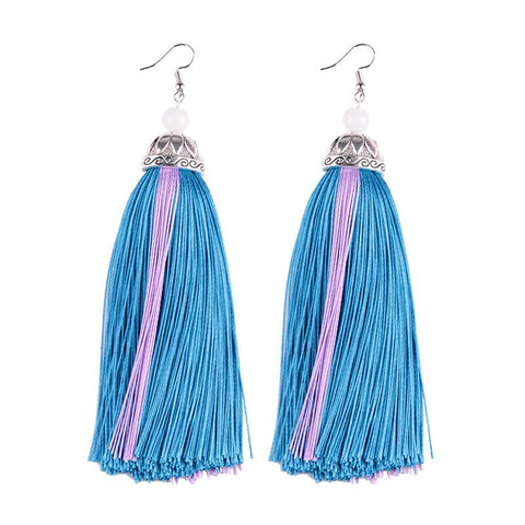Helo Tassel Earrings