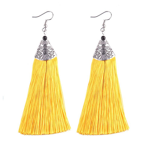 Designer Tassel Earrings