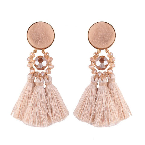 Haly Tassel Earrings
