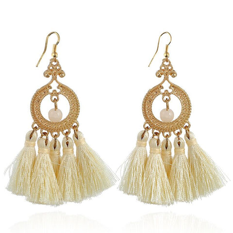 Monalisa Tassel Earrings