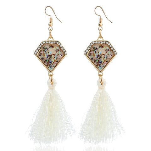 Haleluya Tassel Earrings
