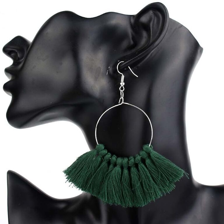 Luv Tassel Earrings