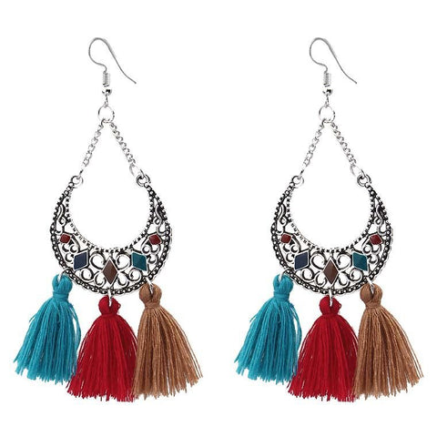 Olu Tassel Earrings