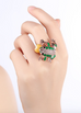 18K Gold Plated Froggy Ring
