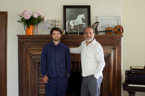 Alex Willcock and Felix Conran welcome Vanity Fair in their house for a chat