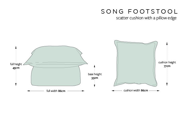 Footstool Dimensions