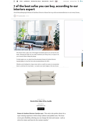 Good Housekeeping 7 best sofas for your home