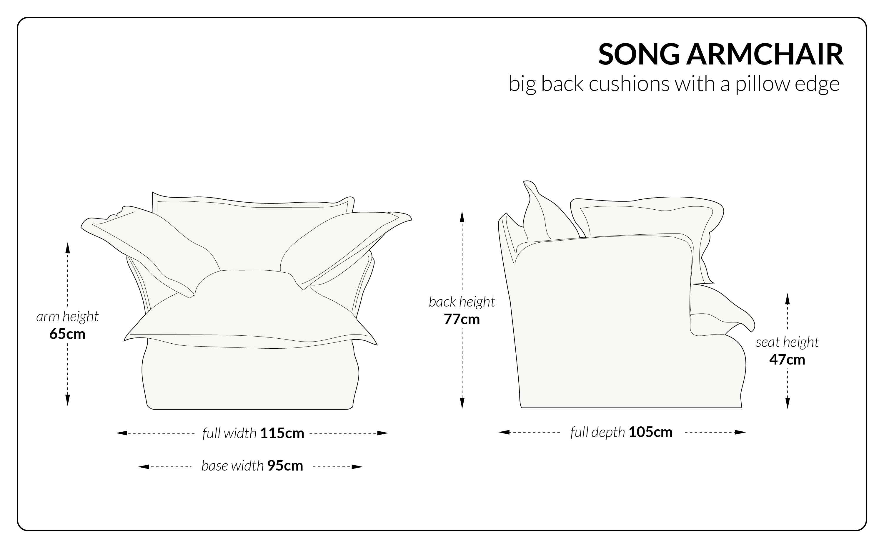 Song Armchair big
