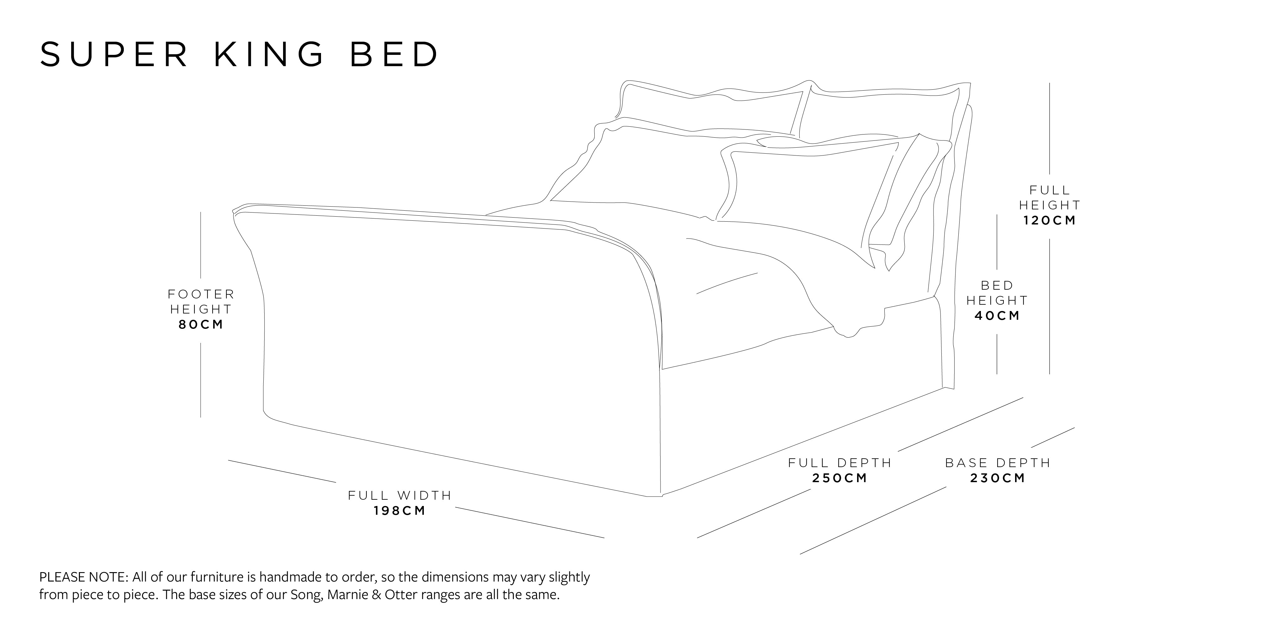 Super King Bed Dimensions