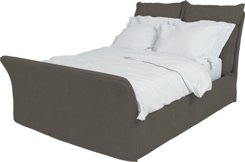 Corduroy Song King Bed