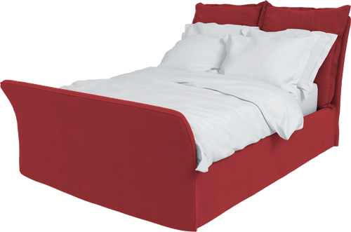 Velvet Song King Bed