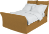 100% Linen Song Double Bed