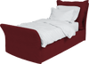 Laquer  Linen Song Single Bed Additional Cover