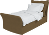 Safari  Linen Song Single Bed Additional Cover