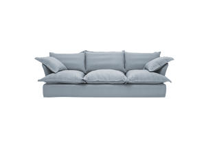 Song Large Sofa made in Granite Linen