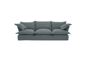 Now Song Large Sofa made in Graphite Linen