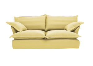 Now Song Sofa made in Citrine Linen