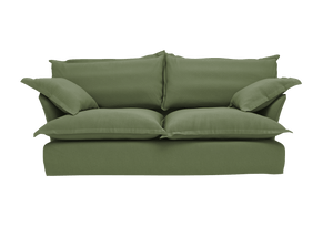 Now Song Sofa made in Forest Linen Cotton