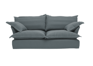 Now Song Sofa made in Graphite Linen