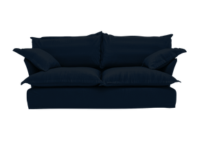 Now Song Sofa made in Navy Velvet