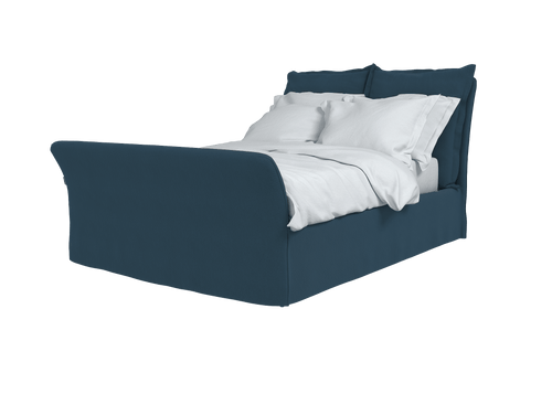 Linen Song King Bed