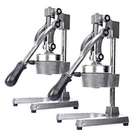 SOGA 2x Commercial Manual Juicer Hand Press Juice Extractor Squeezer